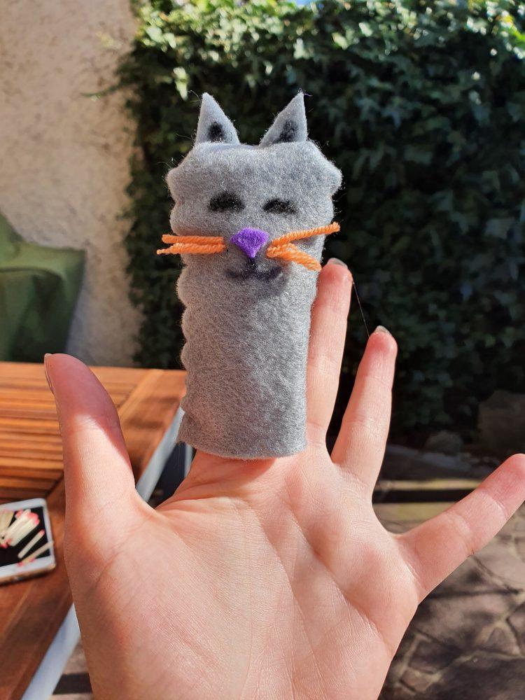 Fingerpuppen selbst gemacht