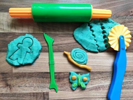 Essknete selber machen- eine Alternative zu herkömmlicher Knete und super lecker!